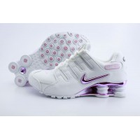 Women Nike Shox NZ 7 white pink