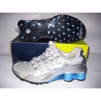Women Nike Shox NZ 13 silver blue