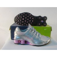 Women Nike Shox NZ 14 silver blue pink