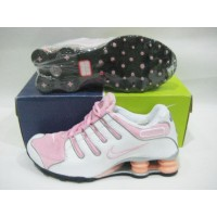 Women Nike Shox NZ 3  white pink
