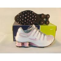 Women Nike Shox NZ 4 white pink