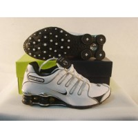 Women Nike Shox NZ 5  white black