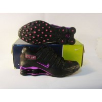 Women Nike Shox NZ 9 black purple red