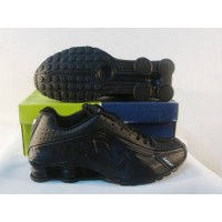 Women Nike Shox R4 12 all black