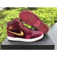 Nike Air Jordan 1 RETRO GS Red Velvet 2017 Spring New Online