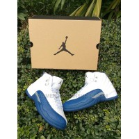 Women Sneaker Air Jordan XII French Blue AAA 220