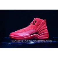 Air Jordan 12 Red Suede 41-47.5 Authentic Free Shipping