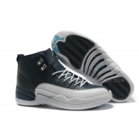 Air Jordans 12 Retro Obsidian / White French Blue For Sale