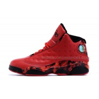 Nike Air Jordan Xiii 13 Ray Allen Miami Heat Custom Full Red Leather For Sale
