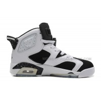 "Air Jordan 6 (VI) Retro ""Oreo"" White/Black-Speckle For Sale"