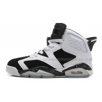 "Air Jordan 6 (VI) Retro ""Oreo"" White/Black-Speckle For Sale Online"