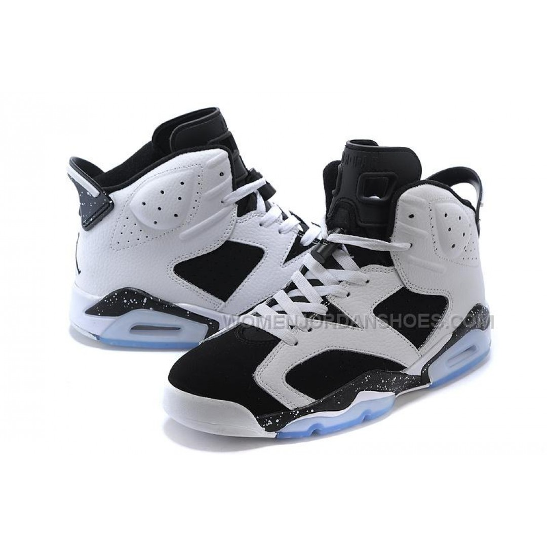 air jordan 6 vi retro oreo white black blanc noir for sale price women jordan. Black Bedroom Furniture Sets. Home Design Ideas