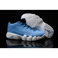 Air Jordan 9 Low Light Blue White