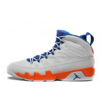 "Air Jordan 9 Retro ""Fontay Montana"" Pure Platinum/Game Royal-Mandarin For Sale"