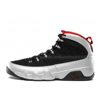 "Air Jordan 9 Retro ""Johnny Kilroy"" Black/Metallic Platinum-Gym Red For Sale"