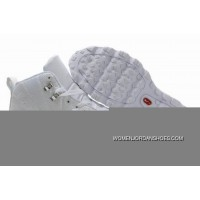 Men's Nike Air Max Jordan 12 Shoes All White For Sale ND6f5