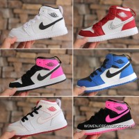 Air Jordan 1 Jordan One AJ1 Kids Shoes 2017 Winter Online