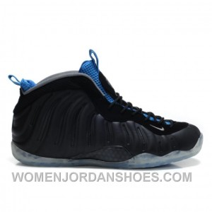 Nike Air Foamposite One Black Varsity Royal EAfsn