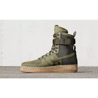 Nike Air Force 1 High Military Green Double Buckles Discount BMSWP