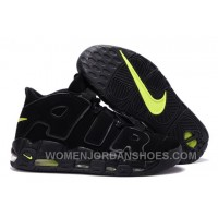 Nike Air More Uptempo Black/Black-Volt Cheap For Sale Online Wnax2