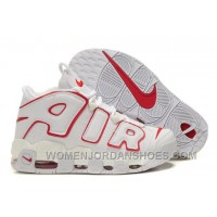 Cheap Nike Air More Uptempo White-Varsity Red KCP6E