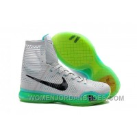 Nike Kobe 10 High Top Elite Elevate Wolf Grey White Light Retro Cheap Sale 2016 New Arrivals