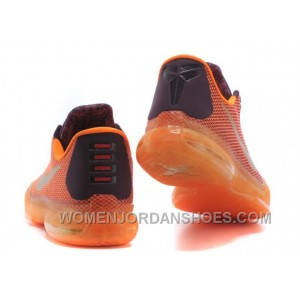 Nike Kobe 10 Silk Road Shoes Orange Red 2016 New Arrivals