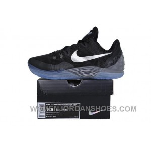 Nike Zoom Kobe Venomenon 5 Black Grey Silver Top Deals IjAsJ