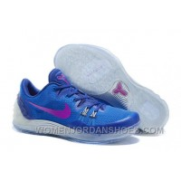 Cheap Genuine Nike Zoom Kobe Venomenon 5 Soar Deep Royal Blue Wolf Grey Vivid Purple Best KF3ty