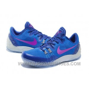 Discount Cheap Nike Zoom Kobe Venomenon 5 Soar Deep Royal Blue Wolf Grey Vivid Purple Top Deals SRSbKY8