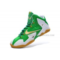 "LeBron 11 ""Oregon Ducks"" Green-White-Gold"
