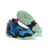 "Nike LeBron 11 ""South Beach"" Blue/Pink/Black"