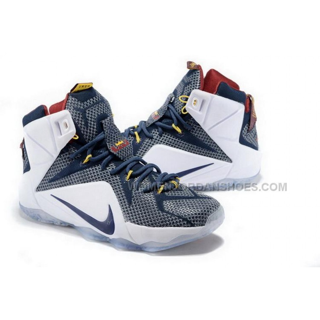 Buy Cheap Nike Lebron 12 2015 White Black Mens Shoes ...