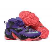 Nike LeBron 13 Purple/Black-Red