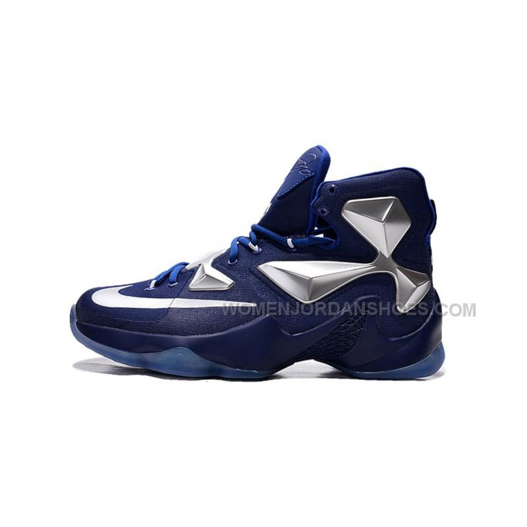 nike lebron 13 xiii royal bluesilver price 9100