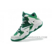 Nike Lebron Xi Mens White Green