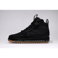 NIKE LUNAR FORCE 1 DUCKBOOT805999-00l Black 40-47