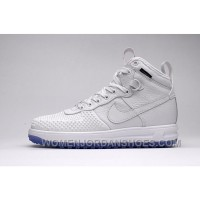 NIKE LUNAR FORCE 1 DUCKBOOT805999-00l White 40-47