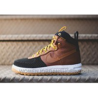 Nike Lunar Force 1 Duckboot 806402-100 Black Wheat Khaki
