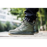Nike Lunar Force 1 Duckboot 806402-100 Military Green
