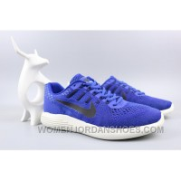 NIKE LUNARGLIDE 8 Jacquard Warp Knitting Blue For Sale HtkKG