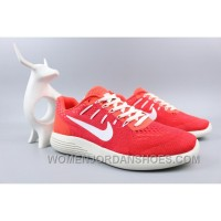 NIKE LUNARGLIDE 8 Jacquard Warp Knitting Red Super Deals ZbTp3