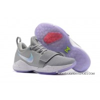Nike PG 1 '2K' Cool Grey White First Signature Shoes Copuon Code