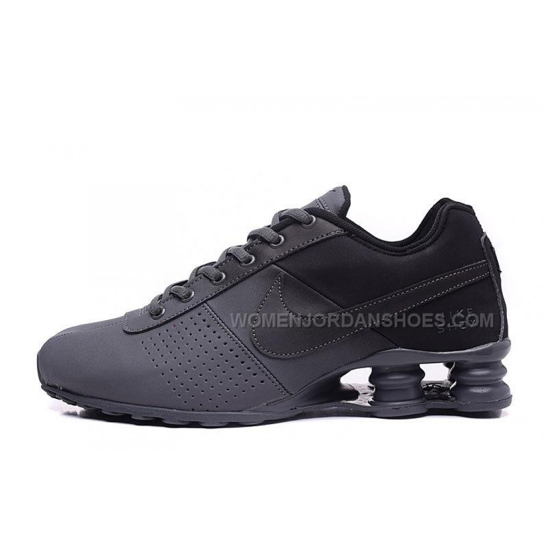 black shox shoes
