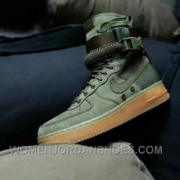 Nike Special Forces Air Force 1 Boots Faded Olive/Faded 859202-339 Olive Green