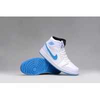 Women Jordan 1 blue white