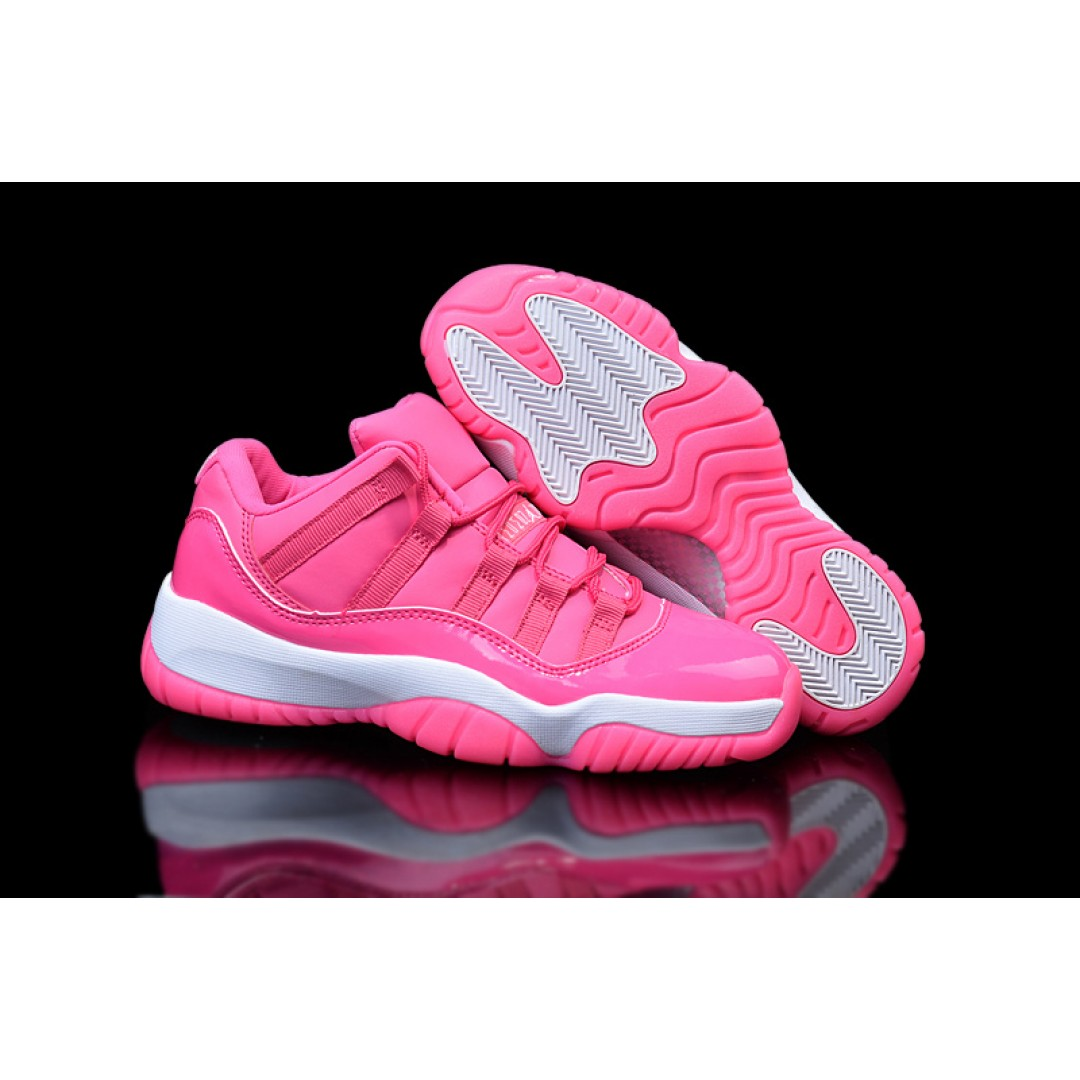 Women air jordan 11 all pink low top price women jordan shoes women jordans shoes - Photos of all jordan shoes ...
