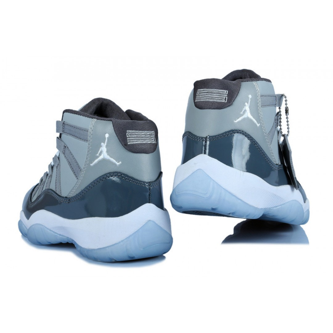 women air jordan 11 cool grey price 7695 women