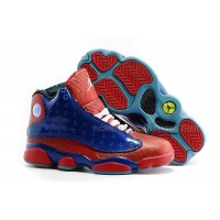Girls Air Jordan 13 Spider-man University Red Game Royal