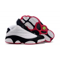 women jordan 13 30th anniversary white black